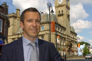 Coun Alistair Bradley, Leader of Chorley Council