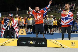 Dave Watson at  the Invictus Games
