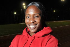 Team GB athlete Marilyn Okoro