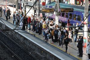 Figures show the number of people using trains to travel dropped by over a million in Lancashire