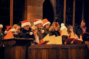 All pictures by Rob Lock.''The free event was organised by churches in Bamber Bridge and supported by South Ribble Council, and saw children from several schools act out the traditional Christmas tale  complete with donkeys.