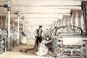 The Victorian cotton mills machinery was dangerous