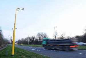 More than 1,100 motorists have been caught speeding by average speed cameras