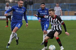 The Magpies beat Curzon Ashton at the weekend (photo: Josh Vosper)