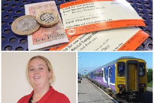County Coun Kim Snape has slammed Northern for its 3.1 per cent increase in fares from January 1, in line with nationally recommended across the UK rail industry
