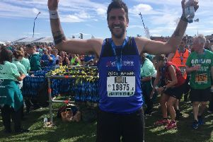 Paul Thompson at the Great North Run