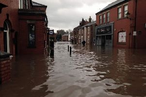 Croston was badly hit by flooding on Boxing Day 2015.