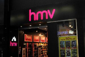 27 HMV stores are to be closed.