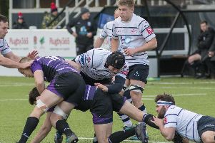 Match action from Preston Grasshoppers win over Leicester Lions 'Photo:Mike Craig
