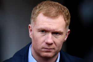 New Oldham Athletic manager Paul Scholes      Picture: Getty Images