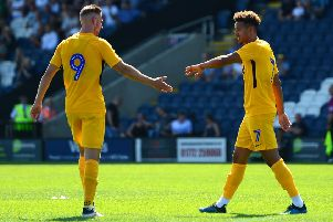 Callum Robinson and Louis Moult are closing in on returns to action for PNE