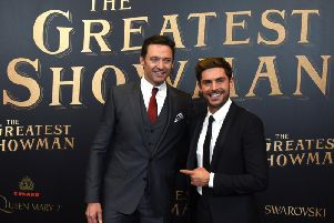 Could Hugh Jackman and Zac Efron be reuniting for a sequel to the Greatest Showman? (Photo: TIMOTHY A. CLARY/AFP/Getty Images)