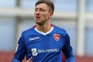 Richie Bennett scored his third goal for Morecambe (photo: Getty Images)