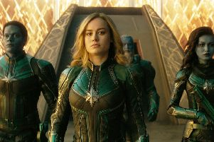Captain Marvel in cinemas this weekend.