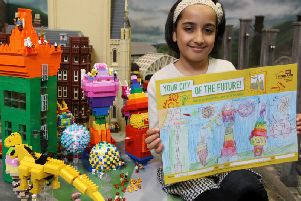 The winning entry, by seven-year-old Saira Ali
