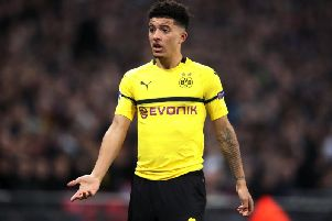 Manchester United will make a move for Borussia Dortmund's Jadon Sancho this summer because his former club Manchester City did not insert any clause in the 18-year-old England winger's contract after selling him stating he could not join their rivals.