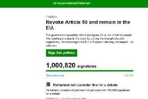 The online petition