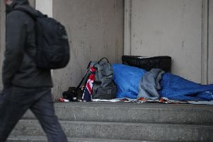 Rough sleeping is a problem in Preston city centre