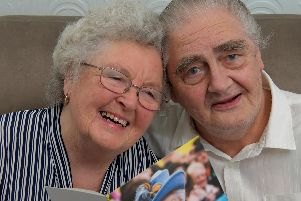 Audrey and Gerald Marsden who are celebrating 60 years of marriage