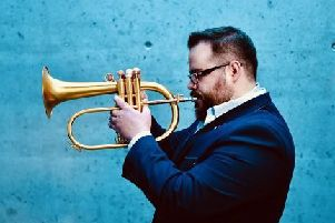Lukas Oravec plays at the Ribble Valley Jazz and Blues Club, Clitheroe Rugby Club, on Friday, April 12