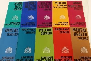 The leaflets laying out just some of the areas which Lancashire County Council was involved in during the 1950s and 1960s.