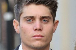 Former Worcestershire all-rounder Alex Hepburn who is on trial at Worcester Crown Court, where denies raping a woman who claimed he began attacking her while she was asleep at his flat in Worcester in April 2017.