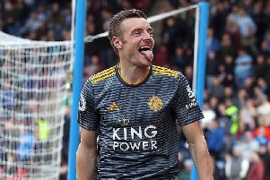 Leicester City boss Brendan Rodgers wants to sign a striker in the summer to provide competition for Jamie Vardy.