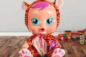 The Cry Babies Nala doll being recalled.