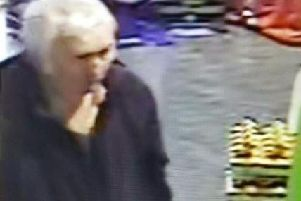 Police in Preston wish to speak to this man after a shopper was racially abused in Booths supermarket on Monday, March 18 in Sharoe Green Lane, Fulwood.