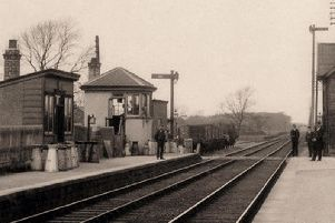 Brock Railway Station, scene of the tragedy