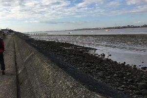 One of the planned walks starts at the mudflats at Knott End