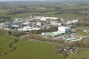 The Springfields nuclear facility at Salwick, near Preston