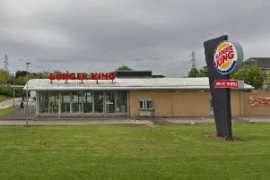 Burger King in Lostock Lane, Bamber Bridge