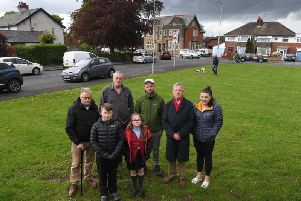 Billy Gardner and his neighbours in Cromwell Road, Preston are fuming over the amount of accidents and near-misses caused because they have to park on the road