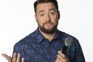 Jason Manford launches inaugural Blackpool Comedy Festival