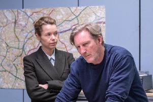 Anna Maxwell Martin and Adrian Dunbar played out a tense interrogation scene in the series finale of Line of Duty