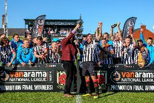Chorley FC are in the National League for the first time in 29 years (Photo: Stefan Willoughby)