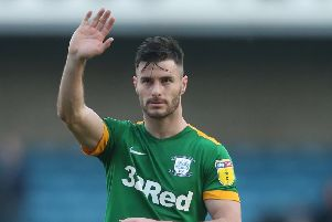 Left-back Andrew Hughes missed the end of the season with injury