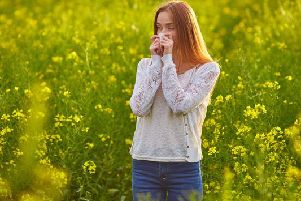 Warmer weather increases the amount of pollen in the air - which brings bad news for those who suffer with hayfever.