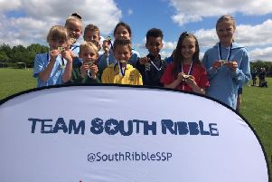 Pupils from Whitefield Primary School in Penwortham are through to  the Spar Lancashire School Games after winning their section of the Quadkids competition