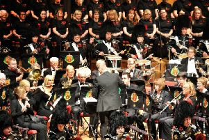 East Lancashire Concert band perform at Preston Guild Hall