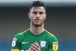 Preston defender Andrew Hughes was one of a number of players to suffer injury last season