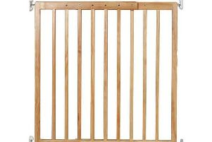 The Cuggl extending wooden gate.