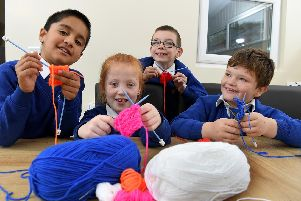 Pupils at Eldon Primary enjoy developing their creative talents in lessons which are weaved seamlessly into school life