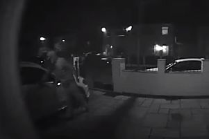The would-be thief was captured on CCTV attempted to get into cars on Sion Close, Ribbleton