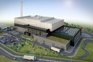 An impression of how the new energy plant may look