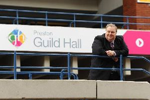 Simon Rigby is named as a company director of GF Preston Ltd and a trustee of the charity