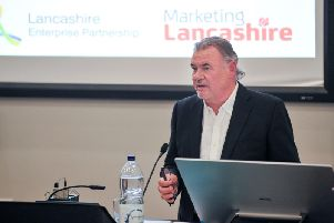 David Taylor, chairman of the Lancashire Enterprise Partnership