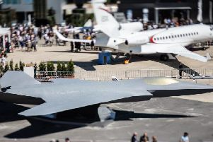At the Paris Air Show