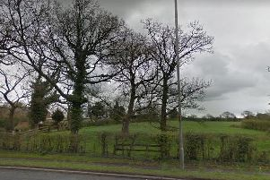 A view from Garstang Road of the land earmarked for the 151 homes